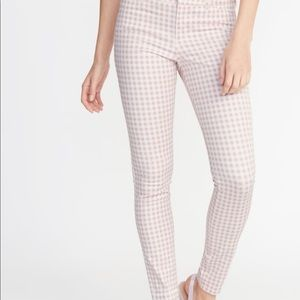 Old navy pixie pink gingham NWT sz 10